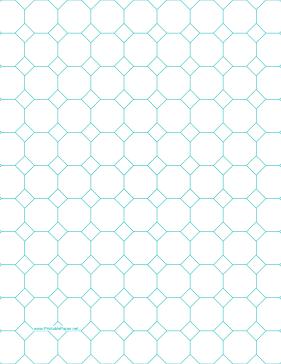 Octagon Graph Paper | Printable Octagon Graph Paper Templates Pinterest Graph Paper