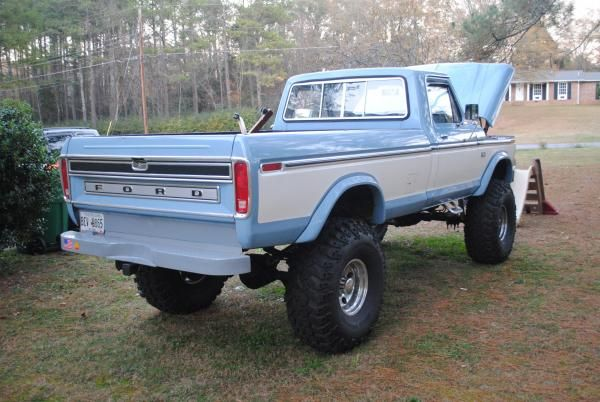 Nice Lifted 1976 F250 Highboy 4x4 For Sale Or Trade North West Ga