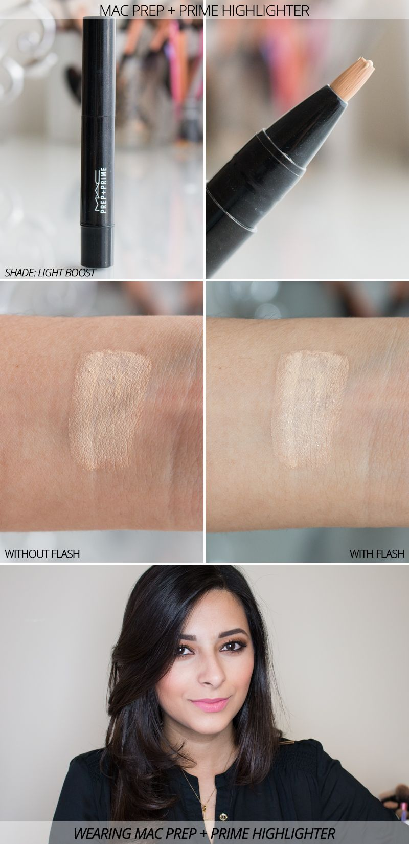 mac prep and prime highlighting concealer