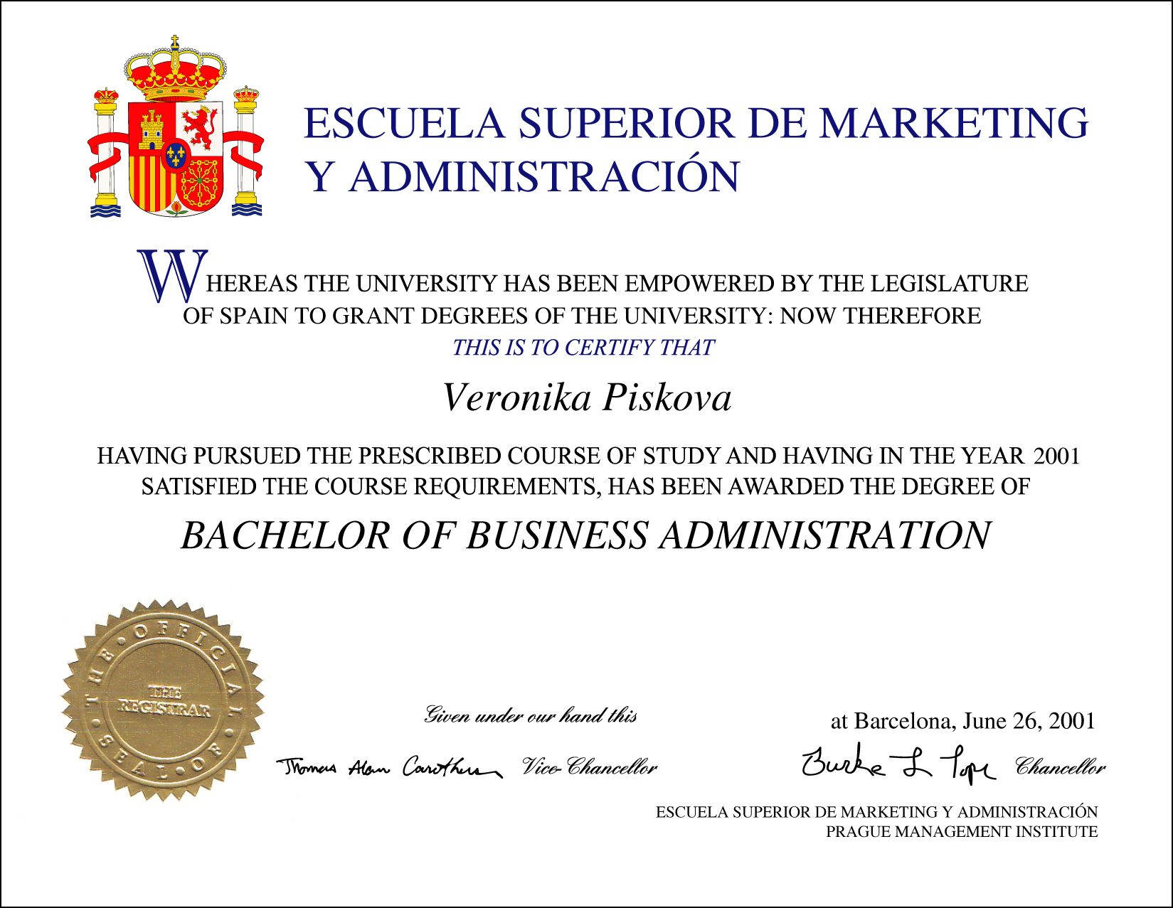 Pin By Phonydiploma On Universities Of Spain Diplomas Transcipts