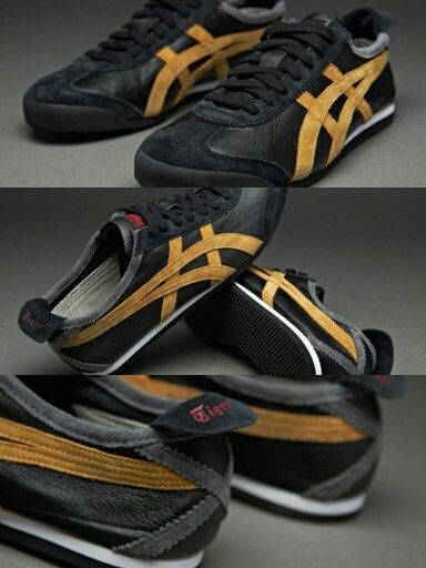 the latest 06fb5 50840 Onitsuka Tiger Mexico 66 - Black/Tan | Amazing Sneaker ...