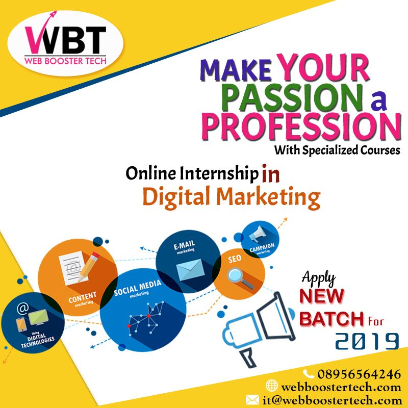 Make your #Passion a #Profession with specialized courses