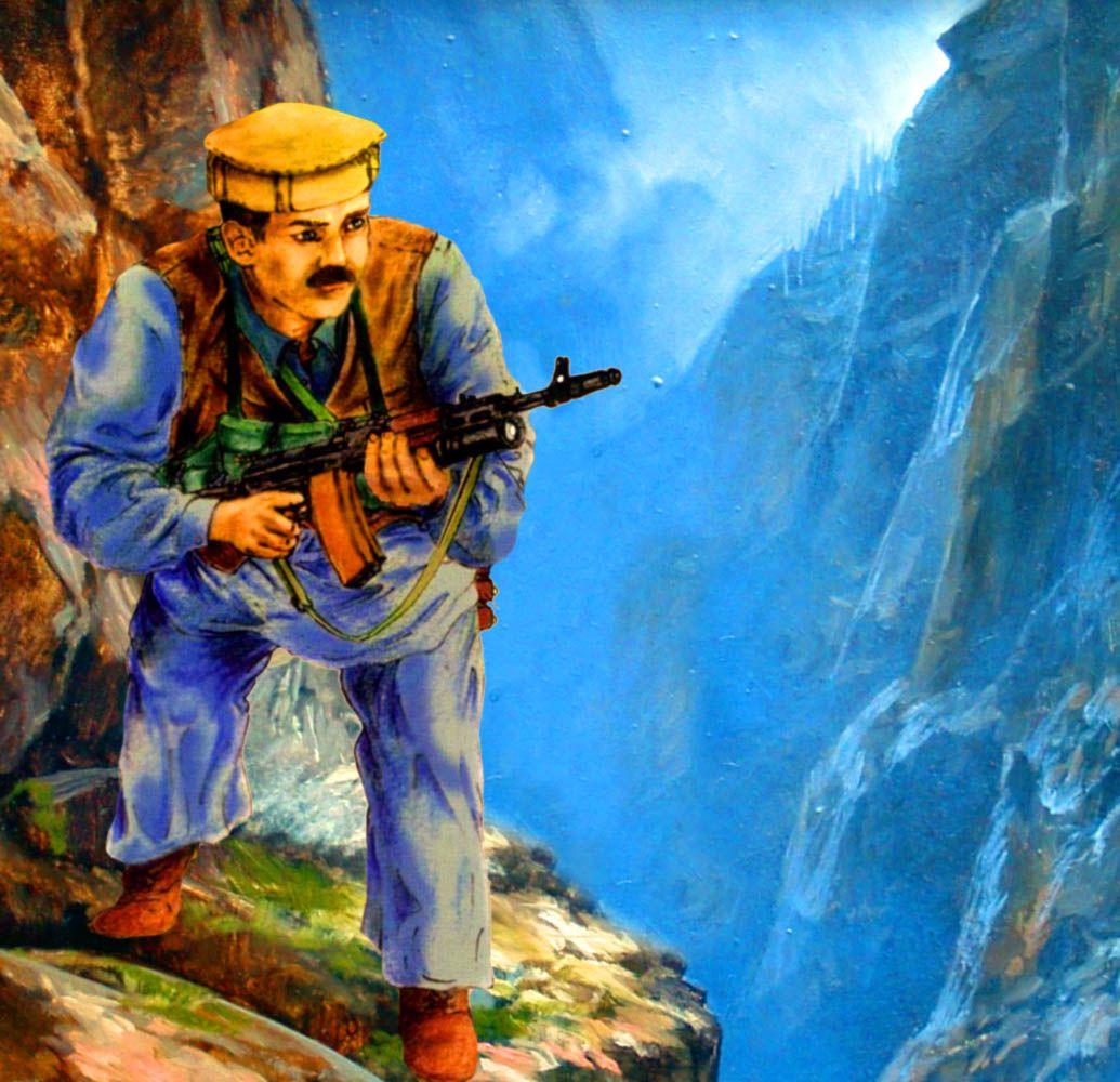 Afghan mujahideen fighter during the Soviet invasion of Afghanistan ...