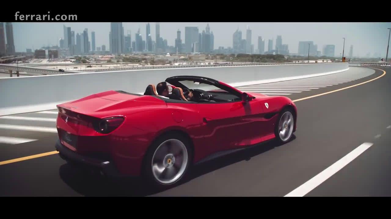 Ferrari Portofino A New Breed Of Design Dubai Ad Commercial On Tv 2018 Portofino Tv Commercials Ferrari