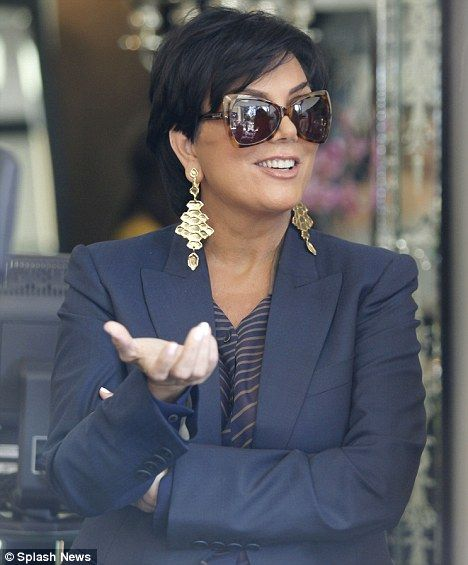 sunglasses better than ray ban  Kris Jenner in Tom Ford Sunglasses