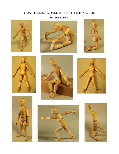 How To Carve A Ball Jointed Doll Class Online With Downloadable Book
