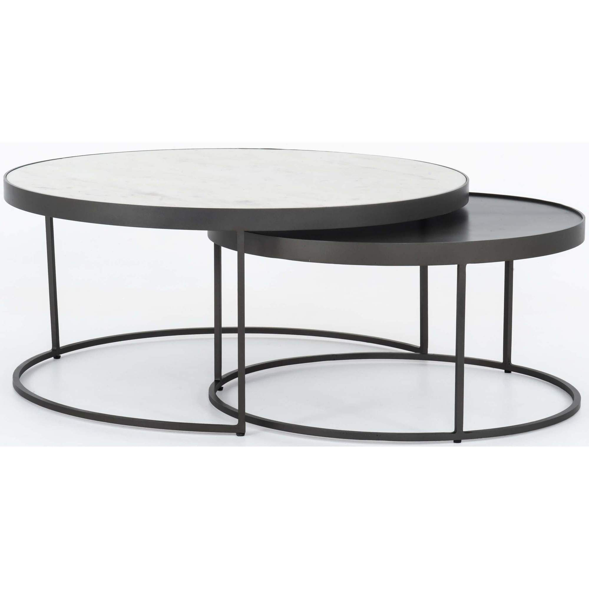 Evelyn Round Nesting Coffee Table In 2021 Nesting Coffee Tables Round Nesting Coffee Tables Round Coffee Table Modern [ 2000 x 2000 Pixel ]