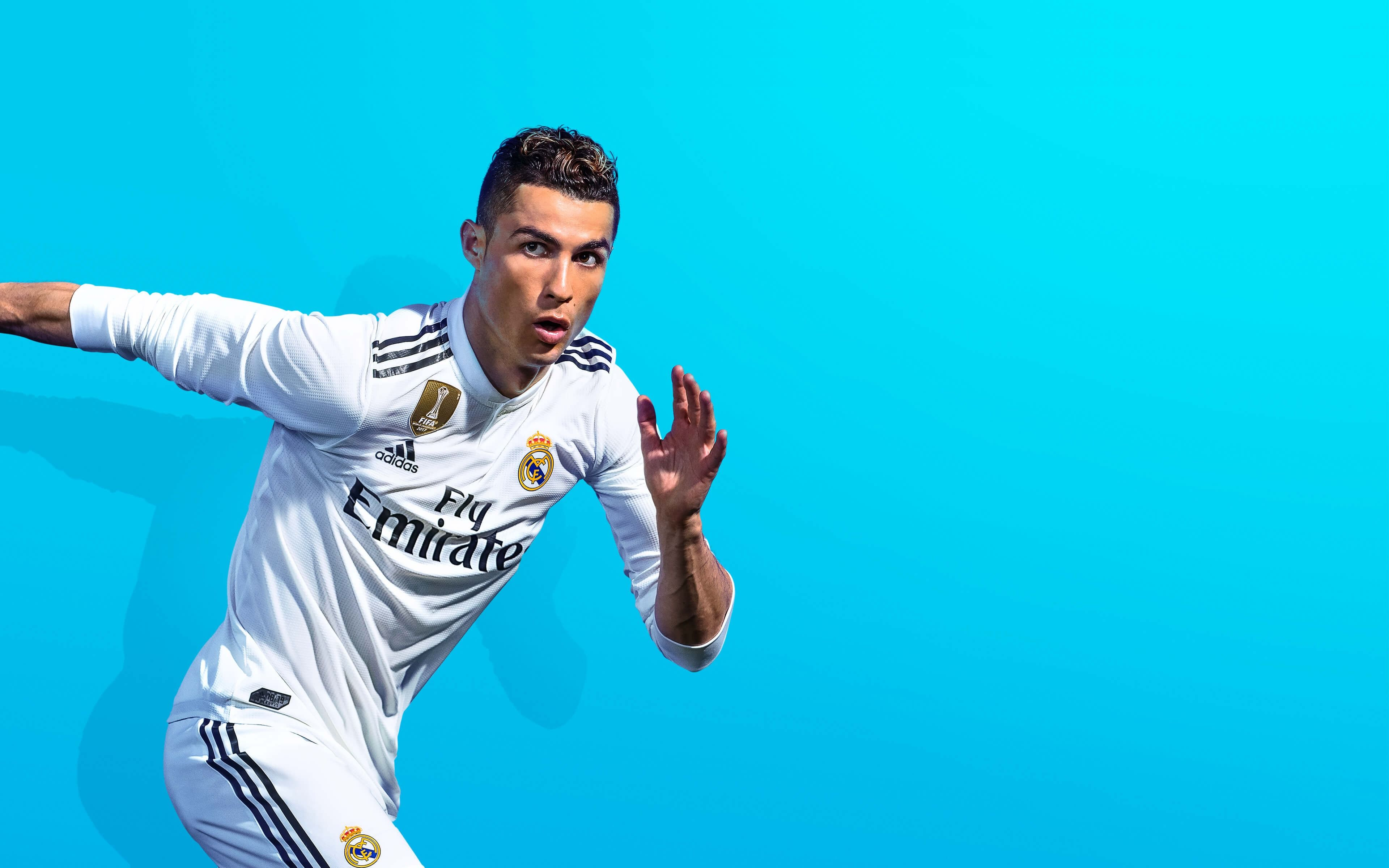Cristiano Ronaldo FIFA 19 Game 4K Wallpaper 3840x2400