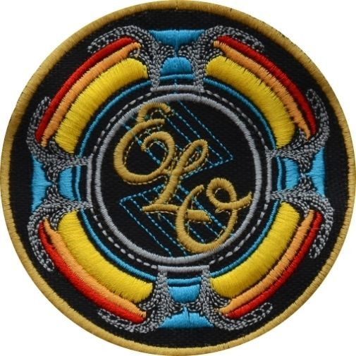 Electric Light Orchestra New World Record Logo Embroidered Patch Elo Jeff Lynne Electric Lighter Orchestra Jeff Lynne