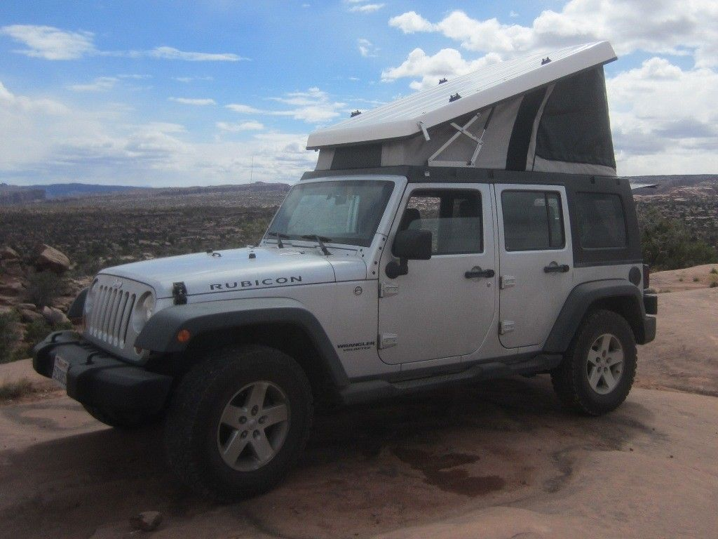 Rental 2018 Jeep Wrangler & Rooftop Tent Whitehorse, YT