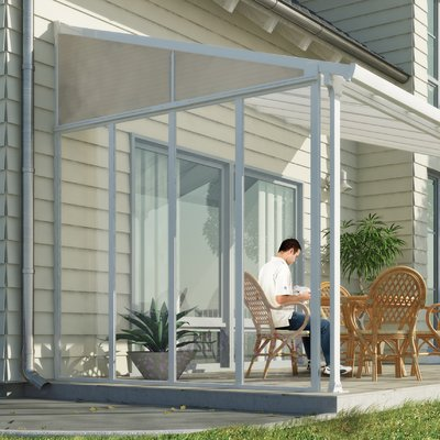 10 Ft W X 8 Ft D Fabric Retractable Standard Patio Awning Patio Awning Outdoor Pergola Pergola