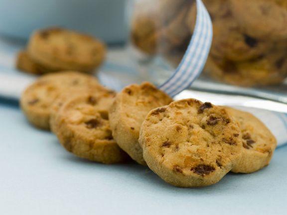 Apfel-Rosinen-Kekse ist ein Rezept mit frischen Zutaten aus der Kategorie Kernobst. Probieren Sie dieses und weitere Rezepte von EAT SMARTER!