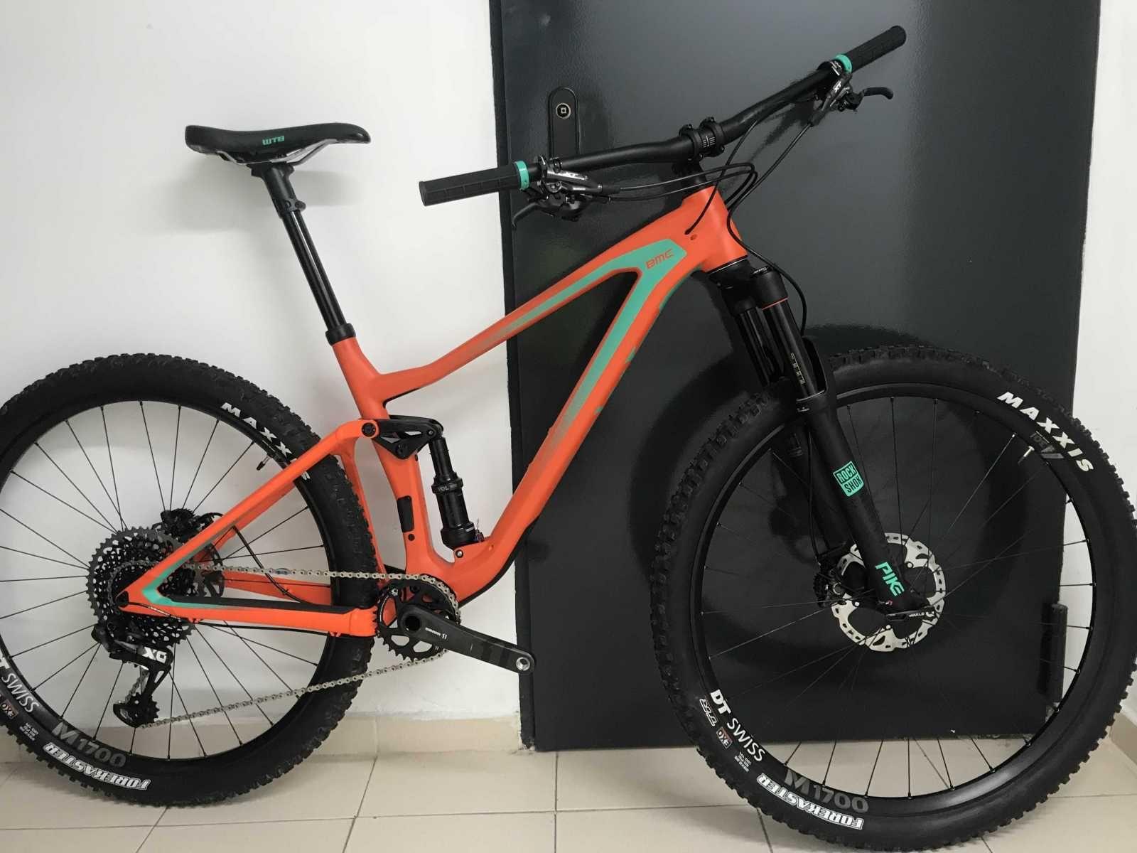 Bicicleta De Montaña Bmc Q2 Ref 38291 Talla M Año 2018 Cambio Sram X0 Cuadro De Carbono Suspensión Doble Bicicletas Bicicletas Mtb Bicicletas De Montaña