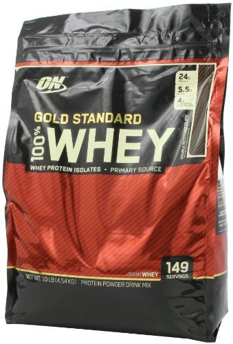 Optimum Nutrition 100 Whey Gold Standard Double Rich Chocolate 10 Pounds Bags Packaging May Vary Multi City Health List Price 153 85