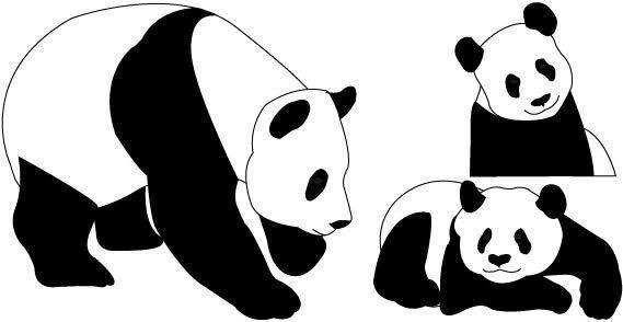 Panda Bears Free Vector Panda Bear Free Clipart Images Free Clip Art