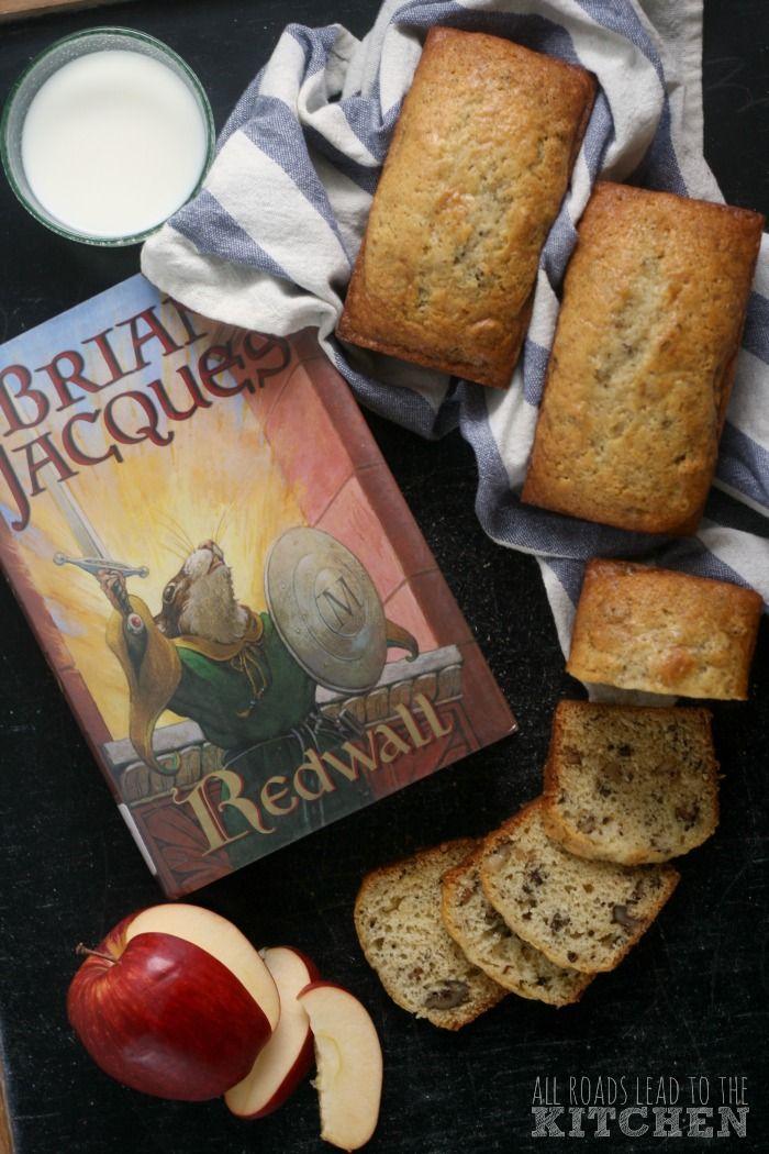 Photo of Pain aux noix et au beurre brun | #RedwallAugust