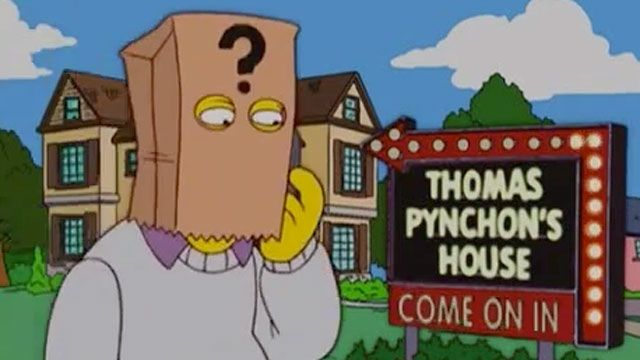 Thomas Pynchon- Simpsons