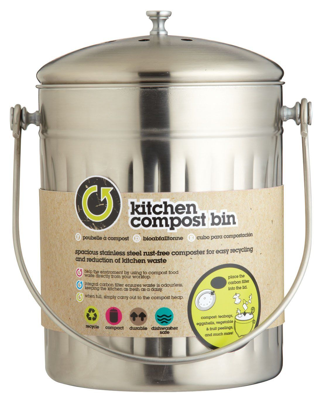 Poubelle De Cuisine Le Guide Ultime Kitchen Compost Bin