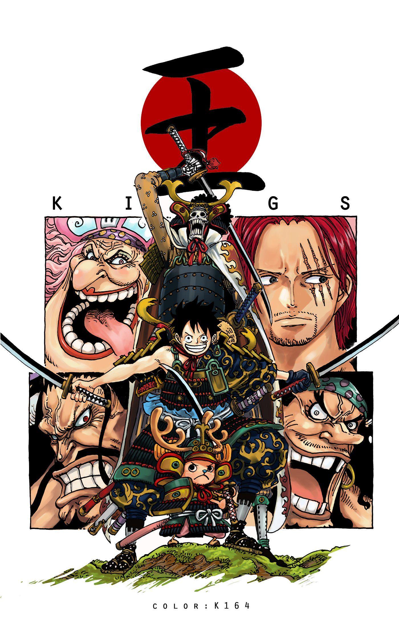 One Piece Wano Wallpaper