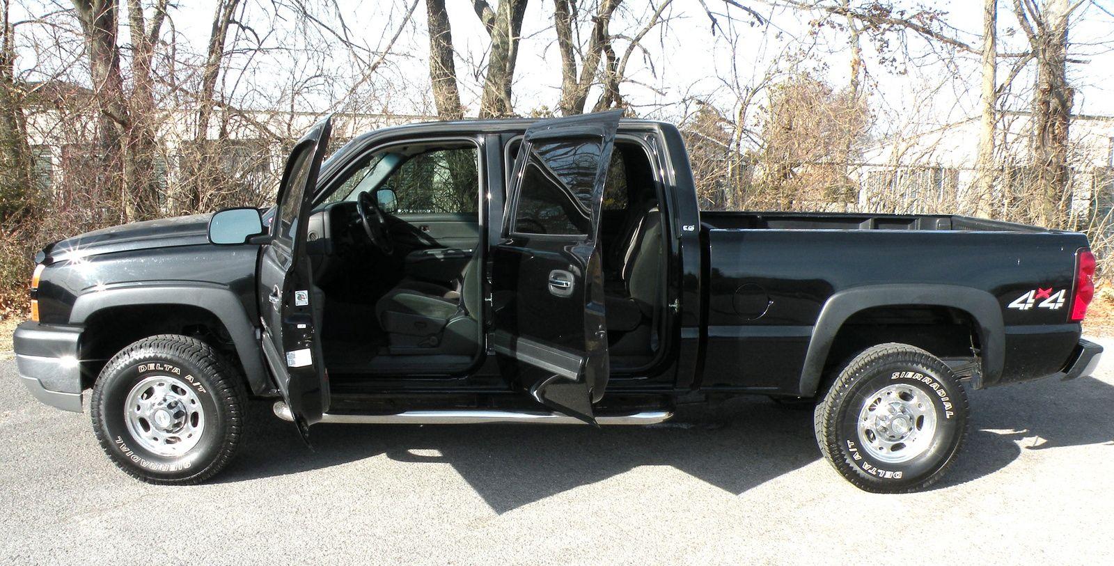 2005 silverado crew cab interior picture of 2005 chevrolet silverado 2500hd 4 dr ls 4wd
