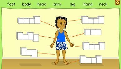 Human body body parts interactive diagram educational kids human body body parts interactive diagram educational kids match the body ccuart Gallery