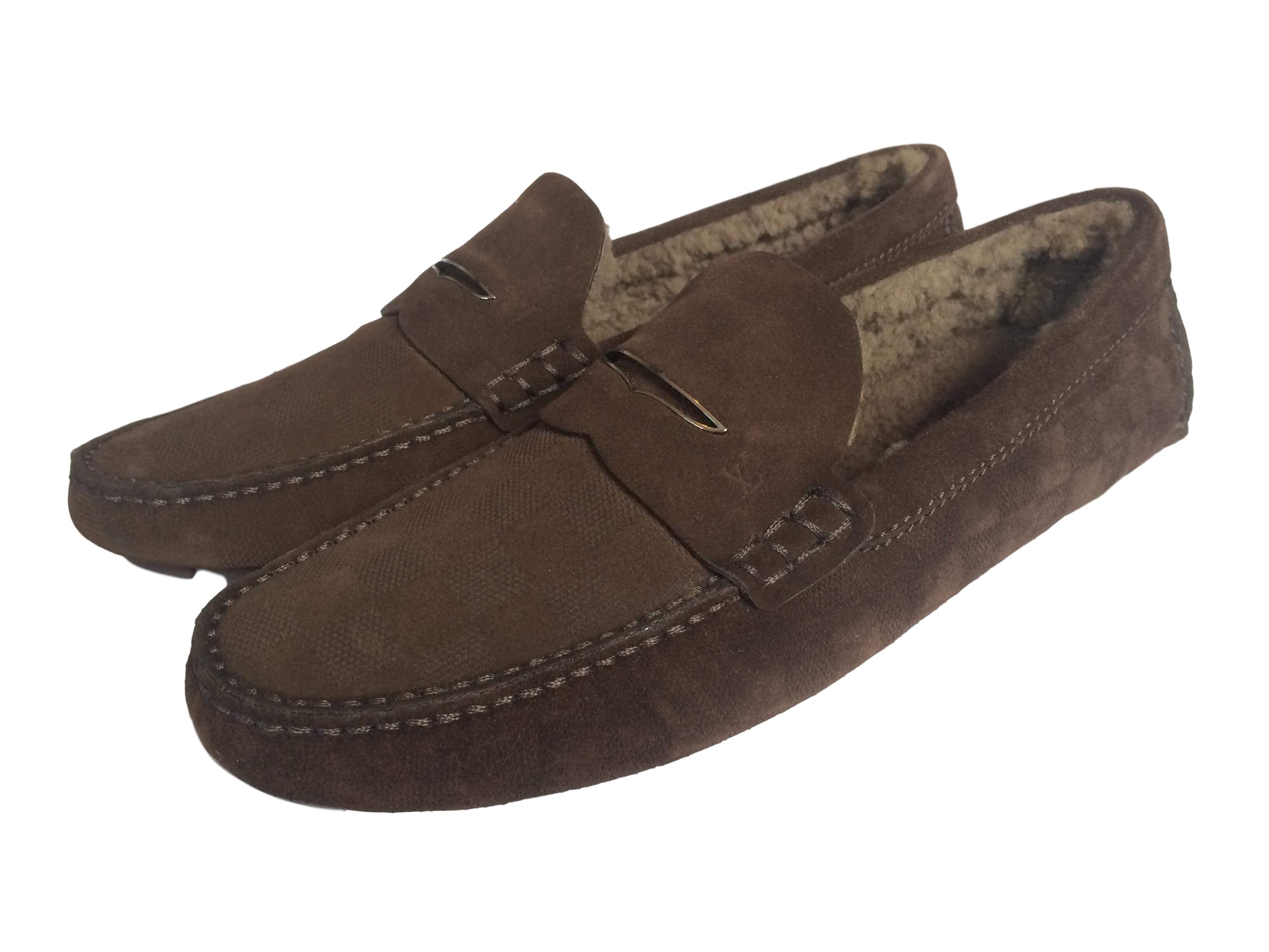 8c0a6d4c67 Shearling Shade Car Shoe | Louis Vuitton Loafers | Shoes, Car shoe ...
