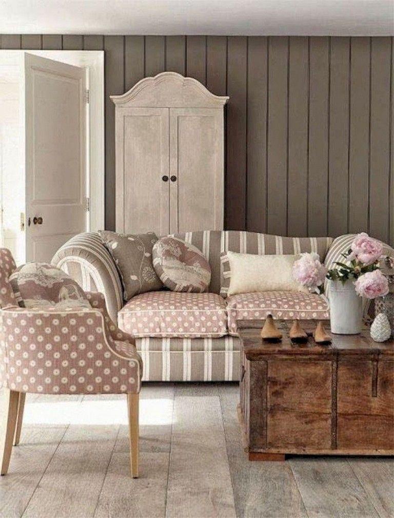 40+ Cool Shabby Chic Living Room Designs Ideas