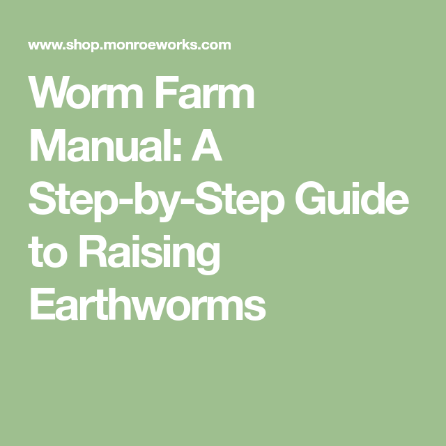 The Earthworm Manual Guide