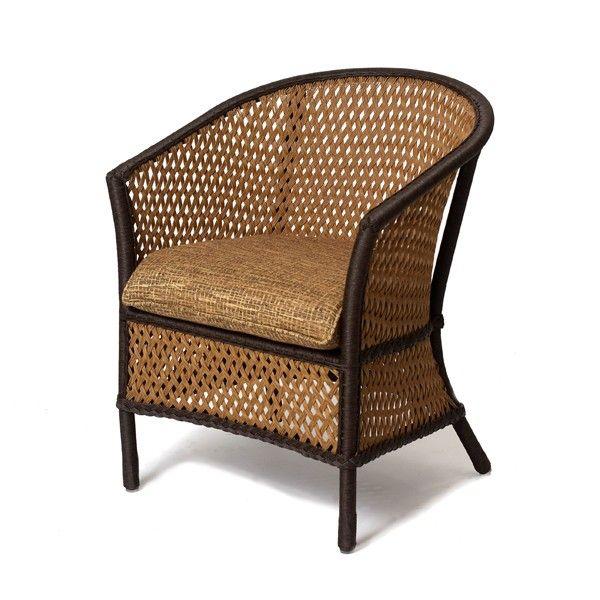 Good Grand Traverse Wicker Barrel Back Dining Chair Http://www.todayspatio.com