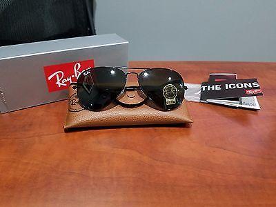 New RAY BAN Sunglasses AVIATOR  Large Metal  Black Frame  RB 3025 L2823 https://t.co/Gx2kma8CTt https://t.co/HFJyNmQRmz