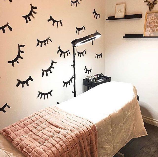 Lash Room Decorations (@her.lashdecor) • Instagram photos and videos #lashroomdecor