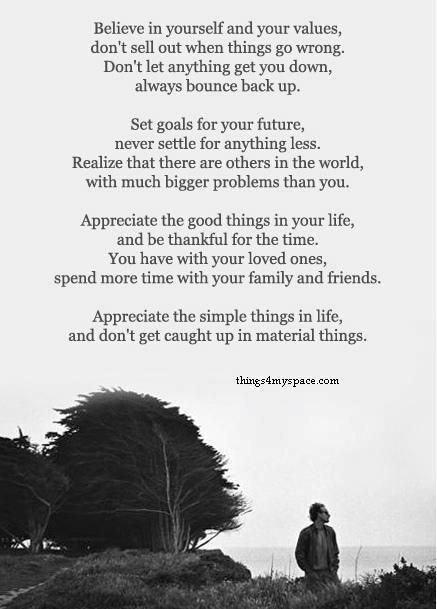 Appreciate....love this, such great words!!