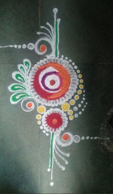Best Rangoli Designs For Diwali 2015