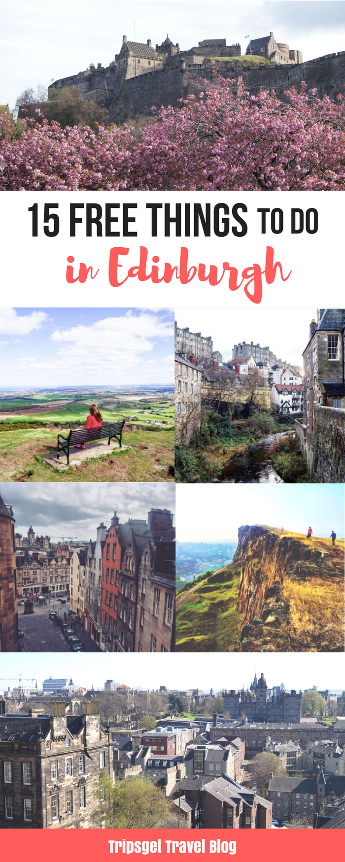 15 absolutely free things to do in Edinburgh, Scotland #travelscotland