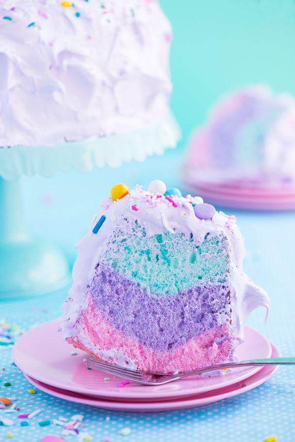 Unicorn Angel Cake By Sweetapolita In 2019 Cake Recipes