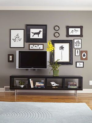 TV as art Dream Home, circa 2050 Pinterest Wohnzimmer