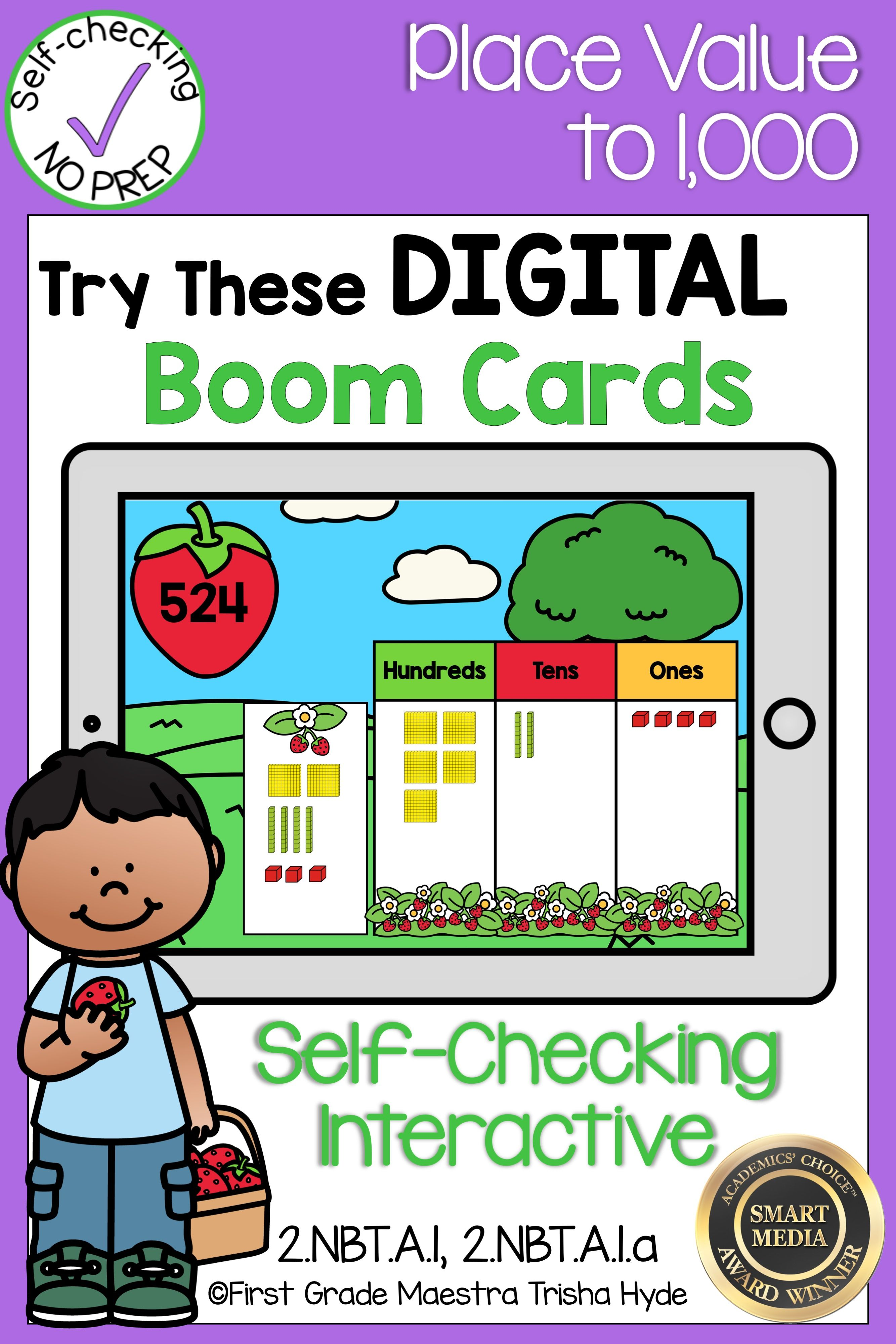 Boom Cards Place Value To
