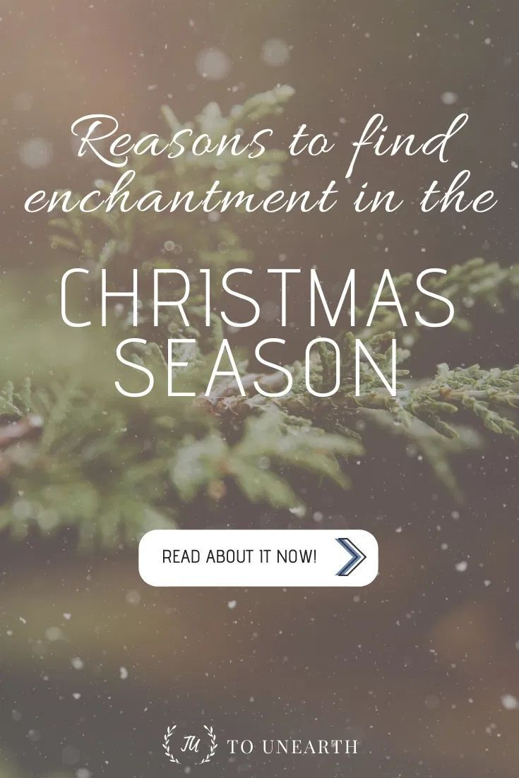 Do you ever grow weary from the Christmas season and take it for granted? Learn how to enjoy the enchantment of the Christmas season as you find joy in Jesus! #christmasseason #joyinchrist #inspirationalarticles #motivationalquotes #christmasjoy