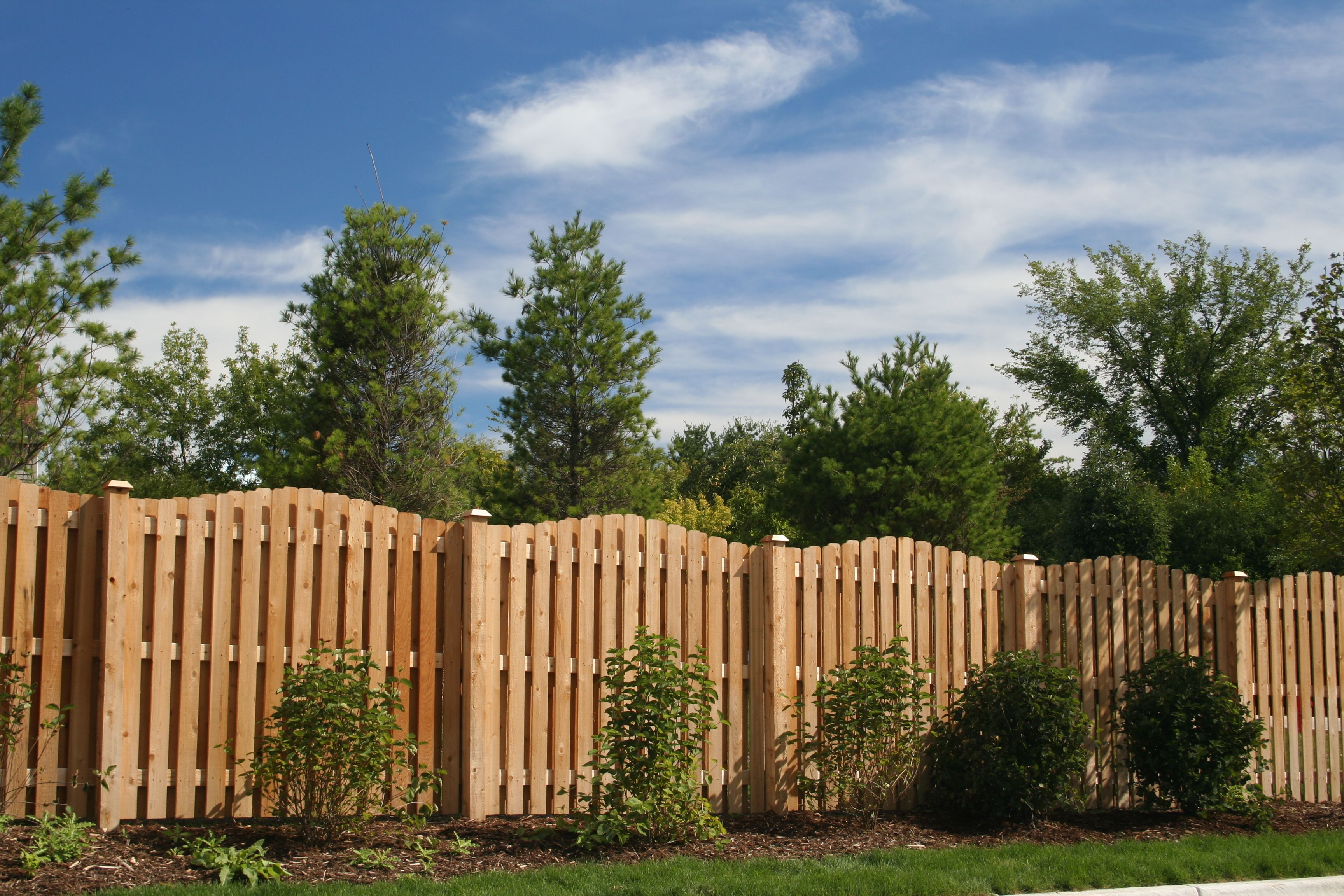 Shadow board fence Cedar Fences by Cedar Rustic Pinterest