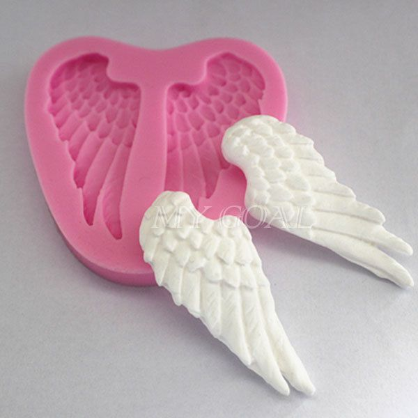 Angel Wings Silicone Cake Fondant Topper Mould Decorating Chocolate Baking Mold in Home & Garden, Kitchen, Dining & Bar, Cake, Candy & Pastry Tools | eBay