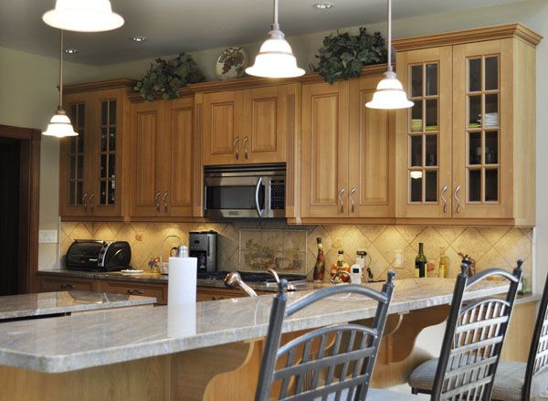 Warm Light Woodbeautiful Tile Back Splash Cerha Kitchen Pleasing Kitchen And Bath Design Center Design Inspiration
