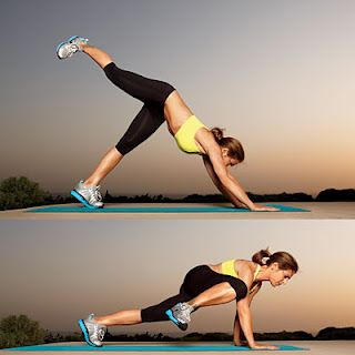 plank work outs. These look hard, but really good!