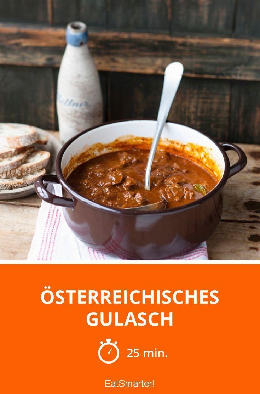 Österreichisches Gulasch #gulaschrezept