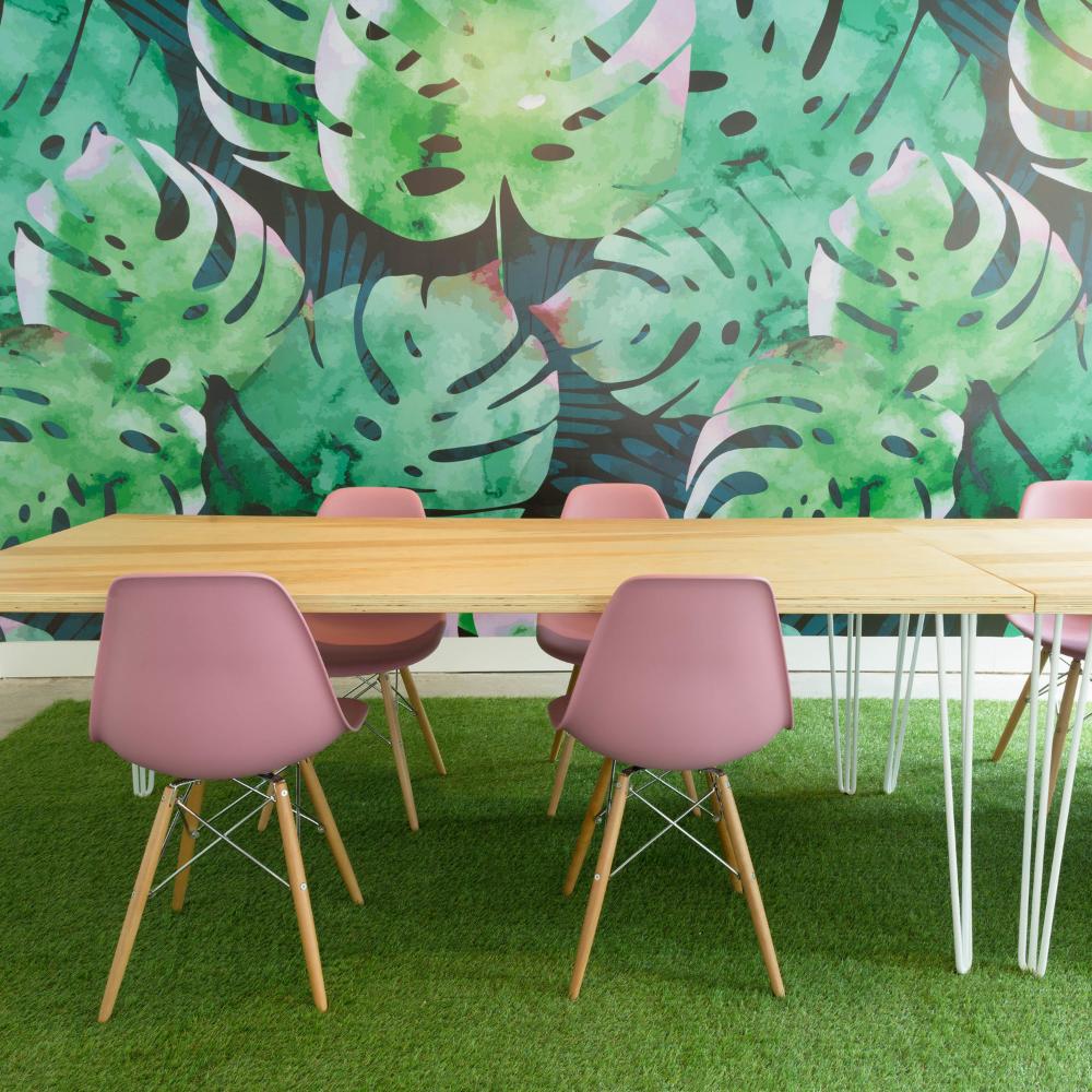 Make Lemonade A Toronto Workspace For Women Jungle Wall Mural Removable Wallpaper Temporary Wallpaper