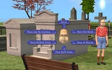 Mod The Sims - Above Ground Graves *Requested*