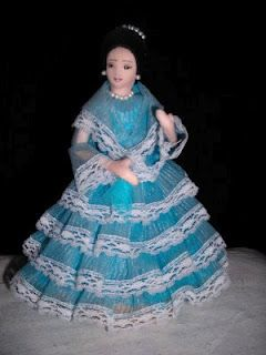 filipina doll dressed in native garb called maria clara this is