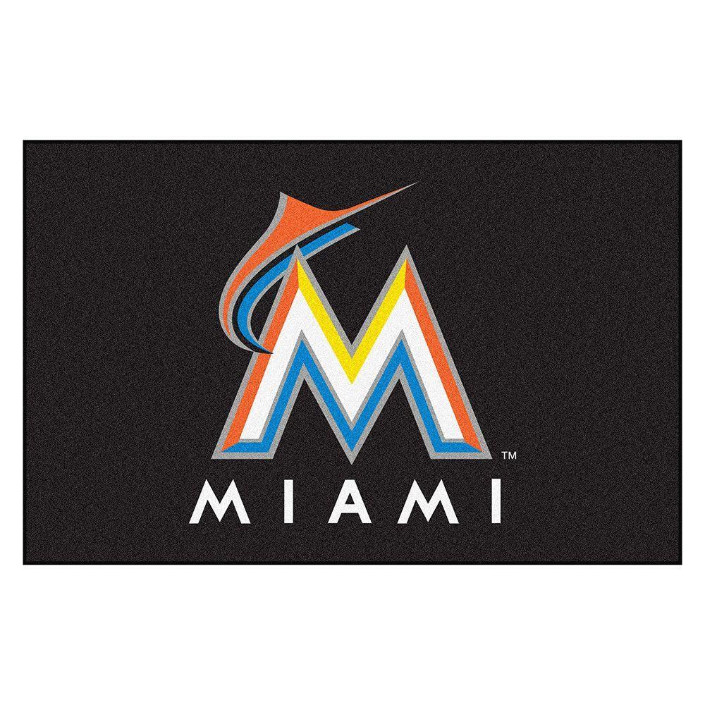 Miami Marlins MLB Starter Floor Mat (20x30)
