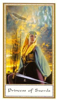 May 2 Tarot Card: Page of Swords (Gendron deck) Look alive