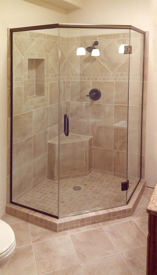 Neo-angle shower surround | Bathroom | Pinterest | Neo angle shower ...