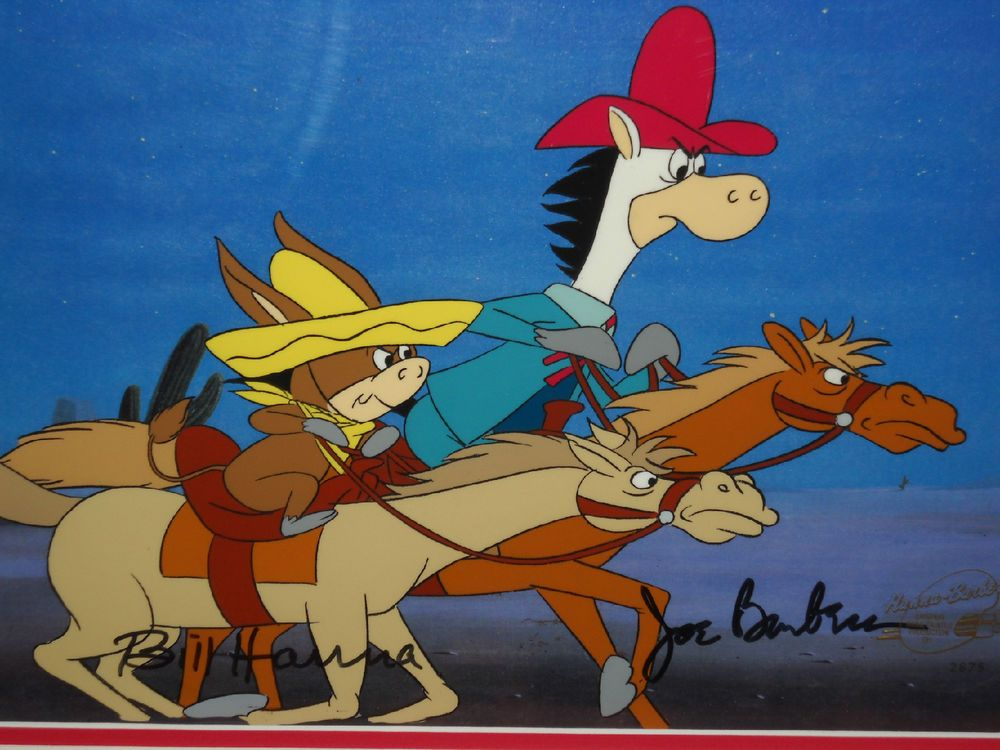 """Artwork Of Quick Draw McGraw And Baba Looey From """"The Good"""